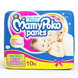 Mamy Poko Pants for New Born (10 Count)