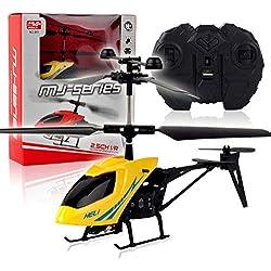 Mini helicóptero Resistente a caídas Creativo, avión teledirigido, Juguete teledirigido Educativo de los niños