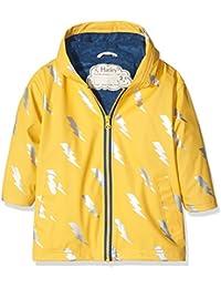 Hatley Splash Jacket-Lightening Bolt, Impermeable para Niñas