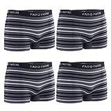 Fabio Farini Lot de 4 Boxer Homme, Taille:L;Boxer Homme:Set 7