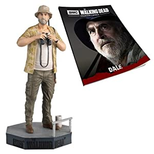 Figura de plomo y resina The Walking Dead Collector's Models Nº 28 DALE 12