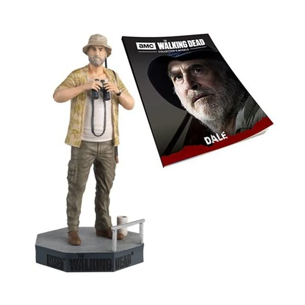 Figura de plomo y resina The Walking Dead Collector's Models Nº 28 DALE 1