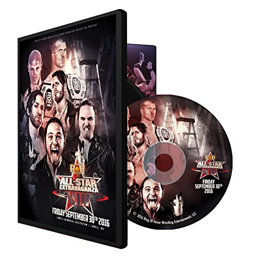 Price comparison product image Official Ring of Honor ROH All-Star Extravaganza 8 2016 Event DVD