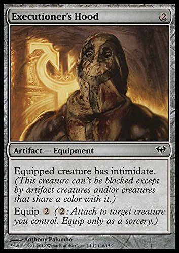 Magic: the Gathering - Executioner's Hood - Cappuccio del Carnefice - Dark Ascension - Foil