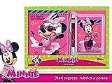 Diario segreto+agendina+penna Minnie