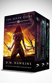 The Seven Signs: Three Book Collection (English Edition) di [Hawkins, D.W.]