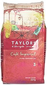 Taylors of Harrogate Café Imperial Medium Roast Ground Coffee 227 g (Pack of 3)
