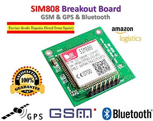 Band Unlocked Gsm-bluetooth (TECNOIOT SIM808 Module GSM GPRS GPS Breakout Board SIM808 for Arduino Raspberry | SIM808 Modul GSM GPRS GPS Breakout Bord SIM808 für Arduino Himbeere)