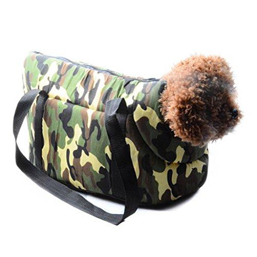 Pet Tragetuch Freisprecheinrichtung Sling Haustier Hund Katze Tasche angenehm weiches für Welpen/Kaninchen, atmungsaktiv Schulter tragen Tote Handtasche (Tragen Tote Bag)