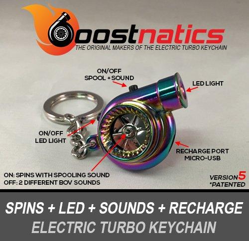 boostnatics-batteria-elettrico-elettronico-turbo-portachiavi-con-suoni-led-neochrome-nuova-versione-