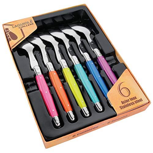 Laguiole 16130 Couteaux/fourchettes/cuillères en INOX Multicolore 15 x 10 x 4,5 cm