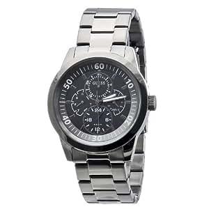 Guess - W12623G1 - Montre Homme - Quartz - Analogique - Bracelet Acier inoxydable gris