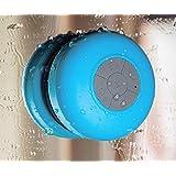 LUFA Mini Altavoz portatil impermeable e inalambrico con Bluetooth 3.0 para Ducha o Piscina Altavoz de la ducha de Bluetooth Altavoz Mic de manos libres
