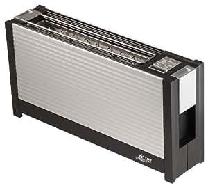 ritter toaster volcano 3 mit hochwertiger aluminiumfront. Black Bedroom Furniture Sets. Home Design Ideas