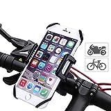 Lemego - Supporto universale per smartphone per bicicletta moto con base in metallo per iPhone 7/6Plus/6/5S/5/SE Samsung Galaxy S7/S6Edge/S6 e dispositivi GPS