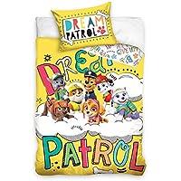 Spin Master Paw Paw Paw Patrol - Juego de cama para cuna (100 x 135 cm, 100% algodón), algodón, Paw17-c, 100 x 135cm