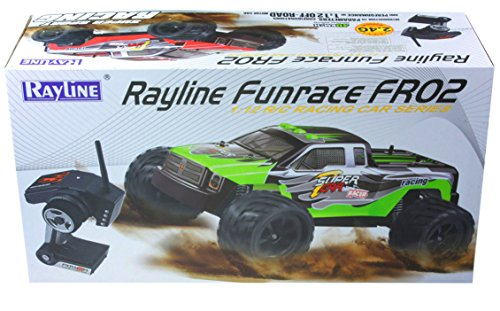 NCC®RAYLINE RC AUTO FUNRACE FR02B15 +2 AKKUS 1:12 OFF-ROAD CAR BIS ZU 40 Km/h SCHNELL! - 2