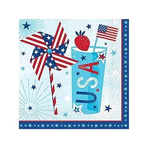 Amscan International-711949servilletas almuerzo mdct-printedln MD ct celebrar EE. UU.