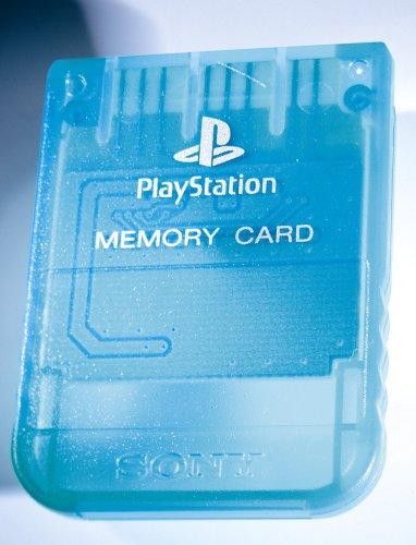 Play Station - Memory Card grün (Card 1 Memory Ps)