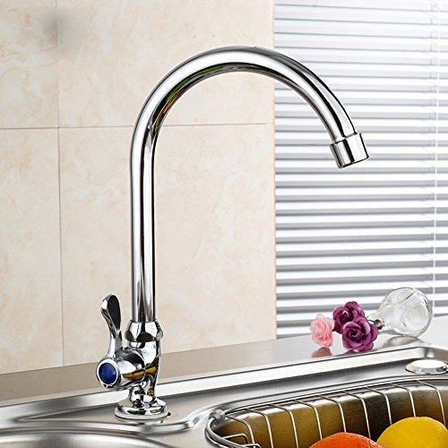 SAEJJ-Lavello rubinetto, rubinetto da cucina fredda singolo - Grove Singolo