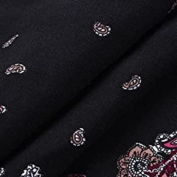 KaloryWee Dresses Women Sleeveless Dot Cotton Soft Bohe Floral Party Casual Short Mini Dress