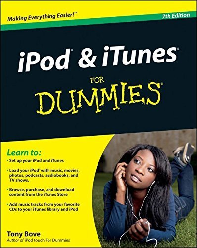 iPod and iTunes For Dummies by Tony Bove (2009-10-26) -