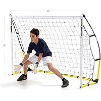 QUICKPLAY Kickster Objectif Amusant   Le But Initial du Kickster   Objectif de Football Portable pour Le Jardin ou Le Parc   Comprend Filet de Football et Sac de Transport [Objectif Unique]