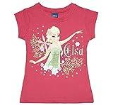 Eiskönigin Elsa T-Shirt in 2 Farben Größe 122, Farbe Rosa