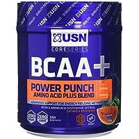 USN BCAA Power Punch Amino Acid Plus Blend, Watermelon, 400 g