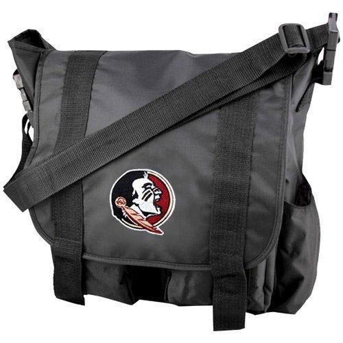 Team-logo-fälle (ConceptOne NCAA LSU Fightin Tigers Sitter Wickeltasche, Team Logo Diaper Bag with Changing Pad, schwarz, 15)