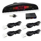 Car Rover® Sensor di Parcheggio radar di sostegno d'inversione con Led Display suono di allarme + 4* 22mm sensori bianco