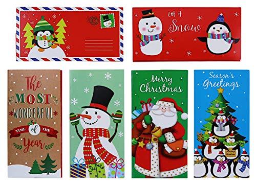 Geschenkkarten-/Geldhalter, mit Umschlägen, 30-teiliges Set -