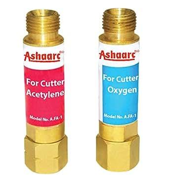 Ashaarc® Flash Back Arrestor Set For Gas Cutting Blowpipes
