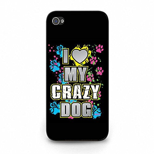 Iphone 5c Case,Fancy Dream I Love My Dog Phone Case Cover for Iphone 5c Animal Dog Shell Cover Color162d