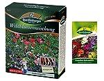 Wildflowers miscela senza erbe Questi fiori mix contiene principalmente un anno, ma specie perenni, è, con il suo uomo attraente fiore e gli animali in particolare piacciono gli insetti come le api e le farfalle. Queste sono sp...