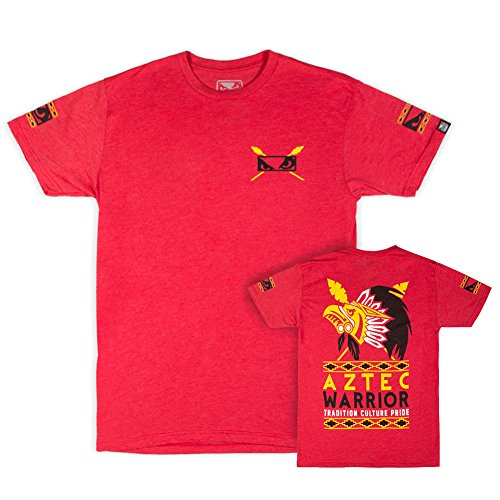 Bad Boy Herren Aztec Warrior T-Shirt rot