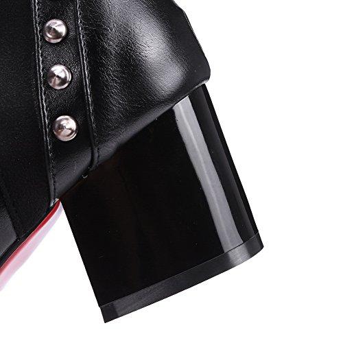 Unknown 1to9 - Sandales Compensées Pour Femmes Black