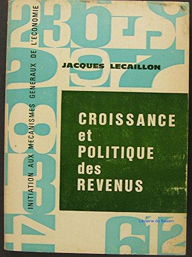 Croissance et politique des revenus