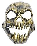 La vogue Totenkopf Schädel Maske Horror Totenkopf Halbmaske für Halloween Cosplay 17*23cm