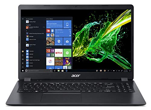 "Acer Aspire 3 A315-42-R4PN Notebook con Processore AMD Ryzen 3 3200U, RAM da 8 GB DDR4, 256GB PCIe NVMe SSD, Display 15.6"" HD LED LCD, Scheda Grafica AMD Radeon Vega 3, Windows 10 Home, Nero"