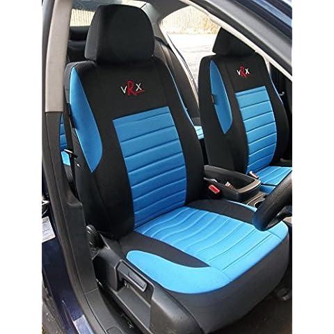 Toyota Hilux/Surf coche universal fundas de asiento VRX Juego Completo (Azul)