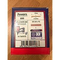 Powers Nägel C5-22MM- XH Gasnagler, Würth DIGA CS-2 , DeWalt ,Powers C5, maxGS73 + Powers Gas