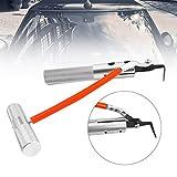 Swiftswan Auto-Windschutzscheiben-Entferner-Automobilfenster-Glasdichtungs-Gummi-Abbau-Werkzeug (Farbe: Silber)