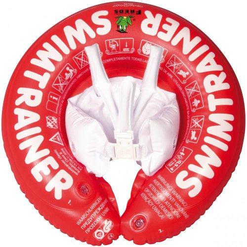 Freds-Swim-Academy-Flotador-de-aprendizaje-de-natacin-para-nios-color-rojo