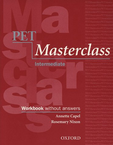 PET Masterclass: Workbook and Audio CD Pack (without Key)