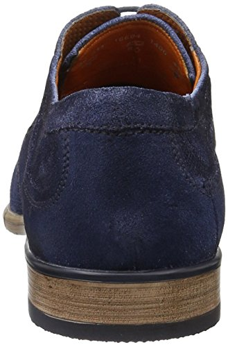 Bugatti 311186041400, Zapatos De Hombre Azul (azul Oscuro 4100)