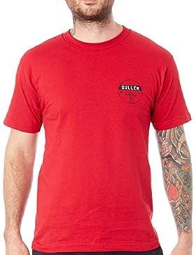 Camiseta Sullen Clean Brick Rojo