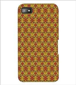 PrintDhaba Pattern D-5141 Back Case Cover for BLACKBERRY Z10 (Multi-Coloured)