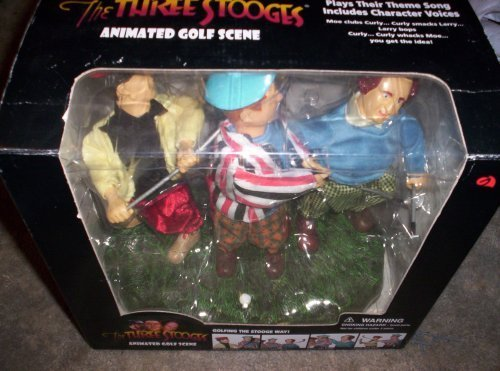 The Three Stooges Animated Golf Scene by The Three Stooges