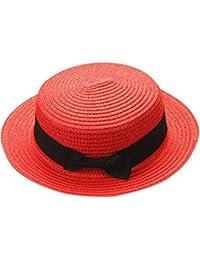 a018cf4a2a9b30 Mounter-Hats Bowknot Breathable Straw Hat Walking Hat Bush Hat Fishing Hat  Wide Brim Hat